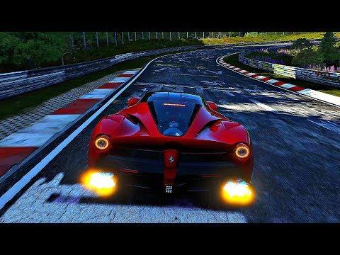 Forza Motorsport 7 - Gameplay Ferrari LaFerrari @ Nurburgring Nordschleife [4K 60FPS ULTRA]