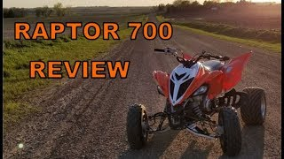 1. Yamaha Raptor 700 - A Rider's Review