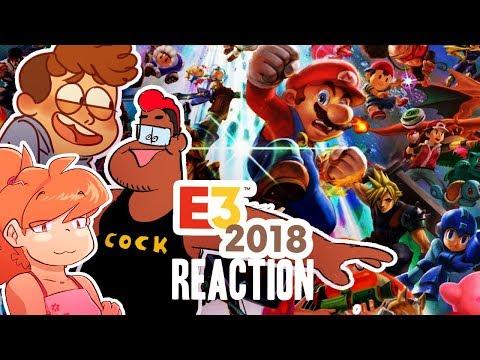 Nintendo E3 2018 Direct | FULL Reactions/Commentary