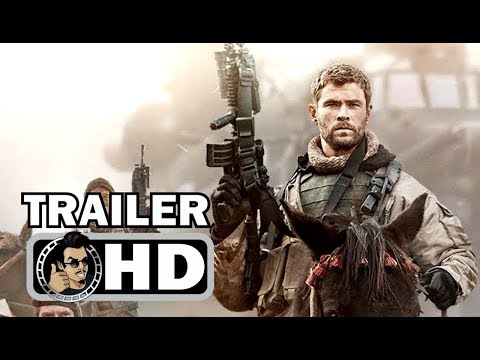 12 STRONG Official Trailer #2 (2018) Chris Hemsworth War Action Movie HD