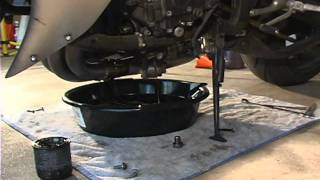 9. R1Videos.com How To Expert Oil Change 2004 2005 2006 Yamaha R1