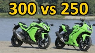 7. ninja 300 vs 250, why the 300 is better.