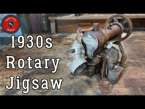 Rotary Jigsaw complete restoration