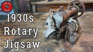 Video 1930s Rotary Jigsaw (Cutawl) [Restoration] MP3, 3GP, MP4, WEBM, AVI, FLV Juli 2019