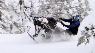 9. 2012 Yamaha Nytro MTX 162 Turbo Snowmobile Review