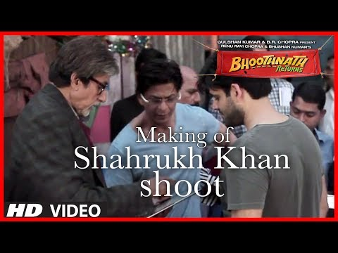 bhoothnath movie Shahrukh Khan - It is always very exciting to watch two Biggest Superstars sharing silver screen together. Shahrukh Khan is doing a connecting role in movie Bhoothnath Retur...