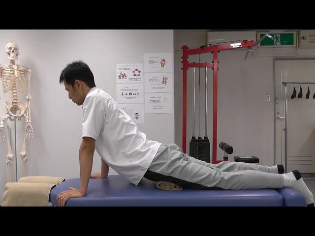 【セルフケア動画】腰椎椎間板ヘルニア 腰のストレッチ