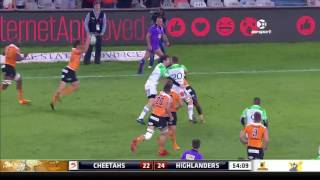 Cheetahs v Highlanders Rd.11 Super rugby Video Highlights 2017