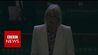 """MPs often complain about being kept in the dark by government but the lights literally went out on them on Wednesday. During an adjournment debate about job losses at Tesco's Welsh headquarters in Cardiff, the Commons chamber was suddenly plunged into semi darkness.Business minister Margot James, who was speaking at the time, admitted to being """"thrown off her script"""" by the surprise turn of events but the session continued to its end, albeit as a shadow of its former self.Please subscribe HERE http://bit.ly/1rbfUogWorld In Pictures https://www.youtube.com/playlist?list=PLS3XGZxi7cBX37n4R0UGJN-TLiQOm7ZTPBig Hitters https://www.youtube.com/playlist?list=PLS3XGZxi7cBUME-LUrFkDwFmiEc3jwMXPJust Good News https://www.youtube.com/playlist?list=PLS3XGZxi7cBUsYo_P26cjihXLN-k3w246"""
