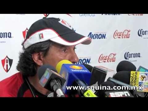 Rueda de prensa de Rubén Omar Romano