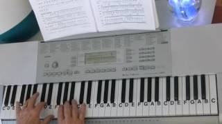 "LetterNotePlayer © ~  For free download of .pdf with the piano Letter Notes & bass progression, go to: http://www.LetterNotePlayer.com/    Tutorial shows how to play the vocal melodies, with bass notes, as harmony for  ""The Scientist""  by Coldplay - on piano / keyboard, in the original key.     This tutorial  demonstrates the LH bass  notes, interlude notes, & chords.  Demo uses a Piano Pad - sound setting on the keyboard.  If you want to play  ""The Scientist"" this video makes it accessible; perhaps having you play most of it in just a few minutes.  Easily adapted to a ""sing along""    Also - follow me on Twitter - LtrNotePlayer - receive tweets whenever I upload a new video. If you subscribe to my channel you will automatically receive notices every time I upload a tutorial - I upload quite often - always a requested song."