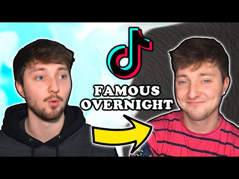 I Tried Becoming TikTok Famous Overnight
