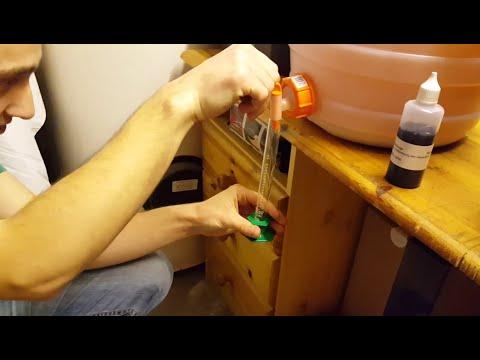 Apfel-Wein selber machen #03   Säure messen (heller Wein)