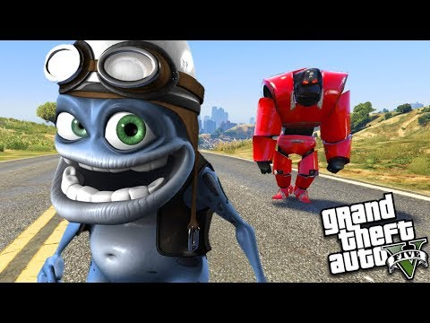 THE ULTIMATE CRAZY FROG w/ ROBOT (GTA 5 Mods)