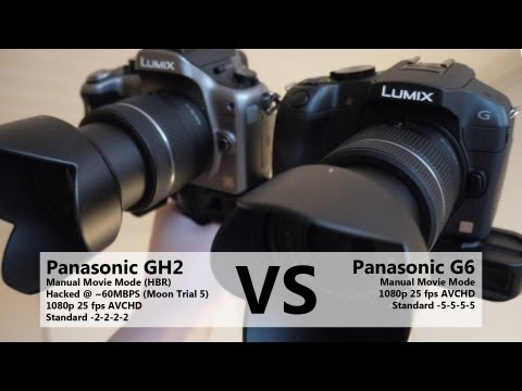 Panasonic G6 vs GH2 – Video Quality Comparison
