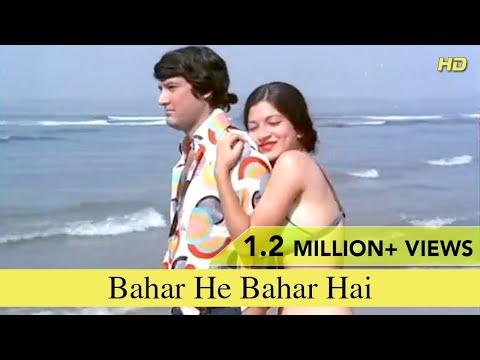 Video Bahar He Bahar Hai   Full Song   Chalte Chalte   Vishal Anand, Simi Garewal   Full HD download in MP3, 3GP, MP4, WEBM, AVI, FLV January 2017