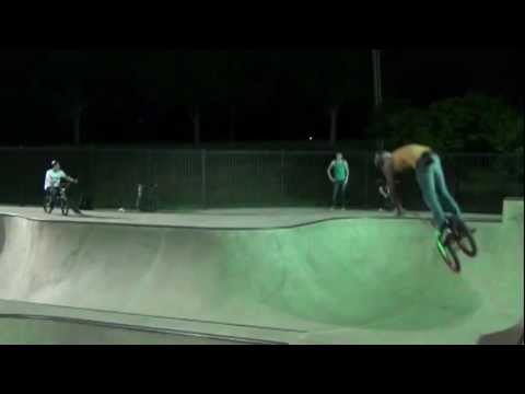 Hoffman skate park bmx