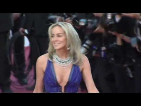 sharon stone gagged