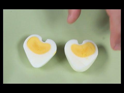 come avere un uovo a forma di cuore