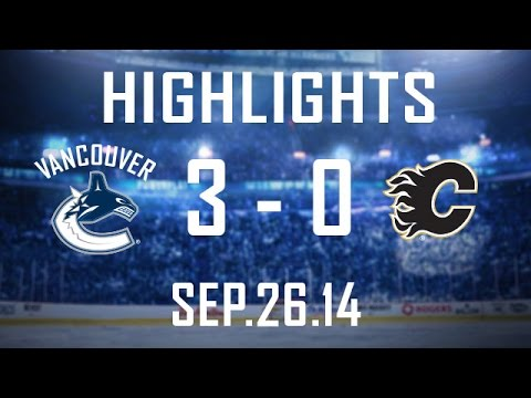 Canucks - The Canucks capitalize 3 times on the power-play and blank the Flames in Vancouver. Sedinery was in full effect as the birthday boys combine for 5 assists. If you want to keep up to date with...