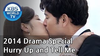 Video Hurry Up and Tell Me | 어서 말을 해[2014 Drama  Special / ENG / 2014.07.25] MP3, 3GP, MP4, WEBM, AVI, FLV Januari 2019