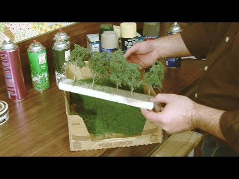 Model Railroad Toy Train Scenery-Excellent  Ideas For Engineering The Best From Your Miniature Scenery
