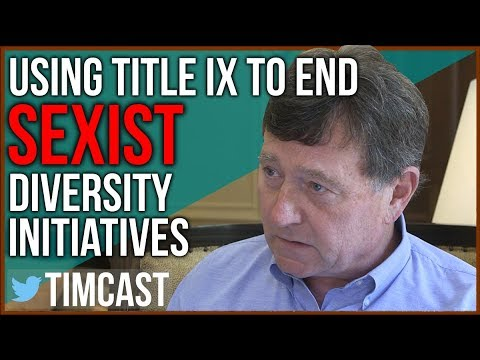 "Using Title IX to End Sexist Women Only ""Diversity"" Programs"