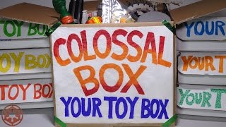 "This is my 10th ""Your Toy Box"" subscription box, which happened to be a very LARGE size!  MUCH bigger than my first 9 ""YourToyBox"" boxes! I think they call it the COLOSSAL BOX! I'm not sure if they still do this for every 10th box, but they used to. (This video was filmed a few months ago)My Facebook https://www.facebook.com/xINVISIGOTHxThere's a lot of STAR WARS in this box! Some other stuff too. TMNT, Micro Machines  etc.Music by Kevin MacLeod"