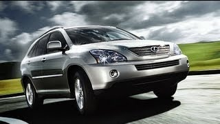 2008 Lexus RX400h Start Up And Review 3.3 L V6 Hybrid