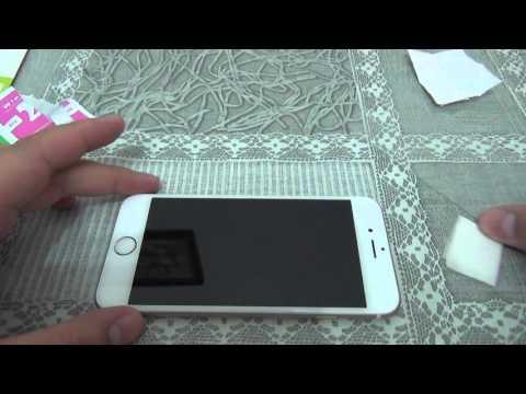 как правильно ставить стекло на телефон