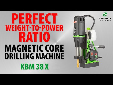 Magnetic Core Drilling Machine Video