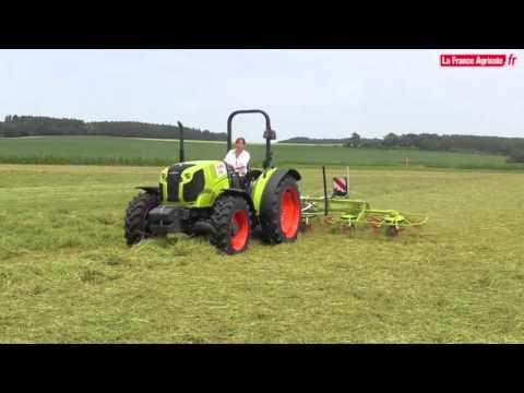 Tracteurs : premiers tours de roues pour les Claas Elios