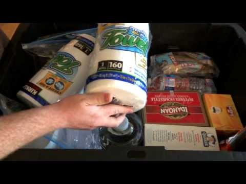 72 Hour – Emergency Food Supply – Bug Out Kit