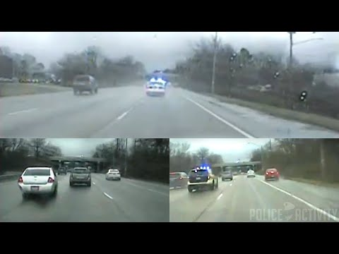 Raw Dashcam Videos From Wild Police Chase In Tennessee