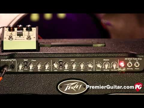 Peavey - Read the review: http://bit.ly/PeaveyValveKingII20 Like many guitarists, my first amplifier was a solid-state Peavey—an Audition Plus I saved up for in 1988....