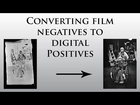 Converting Film Negatives to Digital Positives