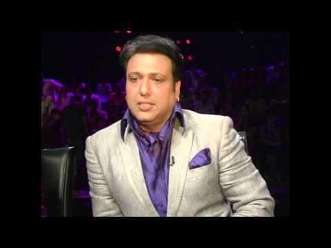 Video Govinda on the set of 'India's Dancing Superstars' download in MP3, 3GP, MP4, WEBM, AVI, FLV January 2017
