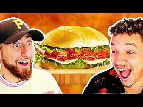 Who Can Make The Perfect SANDWICH?! *TEAM ALBOE FOOD COOK OFF CHALLENGE*