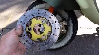 9. Genuine Buddy 50cc brake disk upgrade