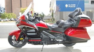 5. 2015 Honda Goldwing 40th Anniversary Edition Airbag