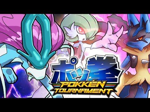 PAZZESCOOOO MEGA LUCARIOOO, vittorie incredibili per Tube! | Gameplay Pokken Tournament Wii U Ita