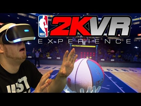 NBA2K VIRTUAL REALITY REVIEW