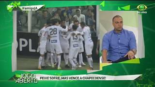 Comentarista não se empolgou com o resultado positivo do Peixe, comentou sobre Leandro Damião e crê que o técnico Tite irá convocar o goleiro Vandelei.