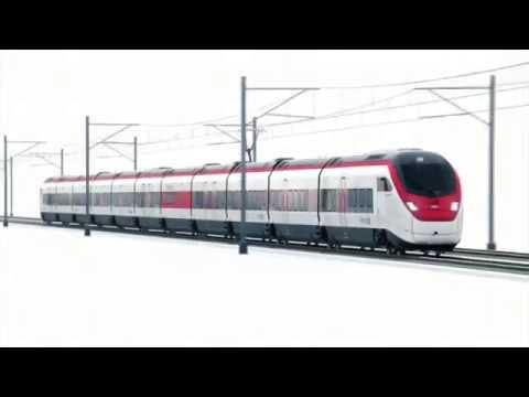 Поезд для Готардского тоннеля