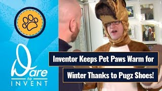 Davison Inventing - Dare to Invent Pugz Shoes for Dogs
