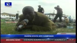 Gunfire Disrupt Rivers APC Rally, Party Supporters Scamper