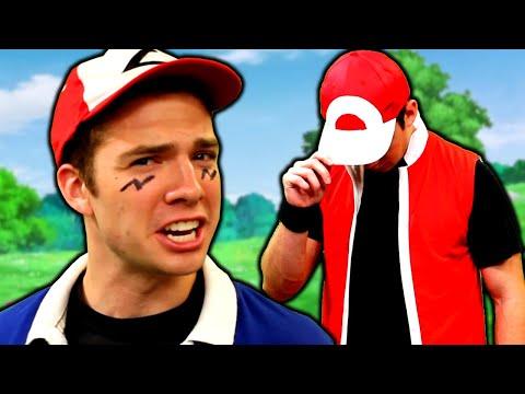 Video Ash vs Red RAP BATTLE - Pokémon Rap Battle by MandJTV download in MP3, 3GP, MP4, WEBM, AVI, FLV January 2017