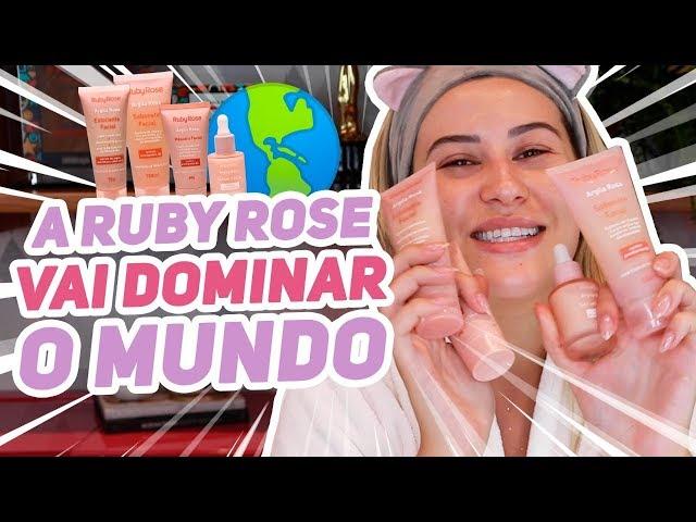 TESTEI os produtos de SKIN CARE da RUBY ROSE! - Niina Secrets