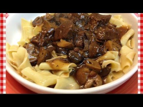 Pressure Cooker Recipe: Amish Style Beef & Noodles