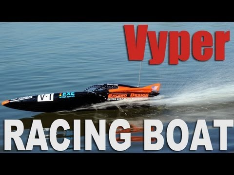 New Exceed Vyper Racing Fiberglass Boat